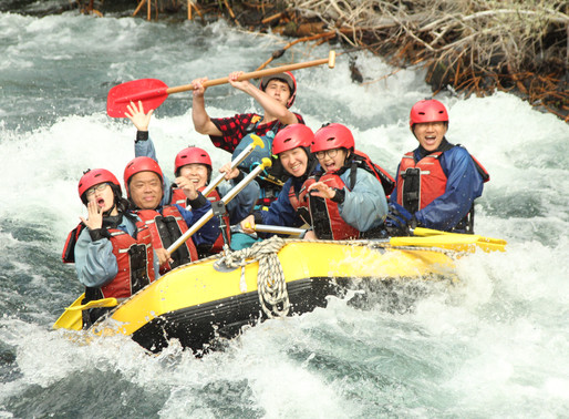 Taupo & Rafting the Tongariro River