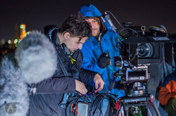 Ultima zi - Feature Film - On set