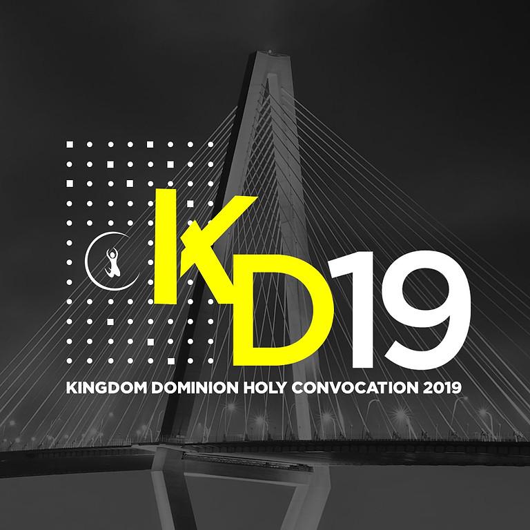 Kingdom Dominion Holy Convocation 2019