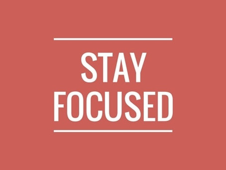 How To Stay Focused At Work ?
