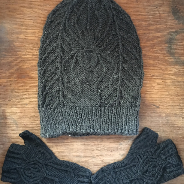 Rebekah Hat and Gloves