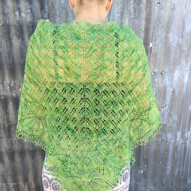Rebekah Wilce Shawl 2