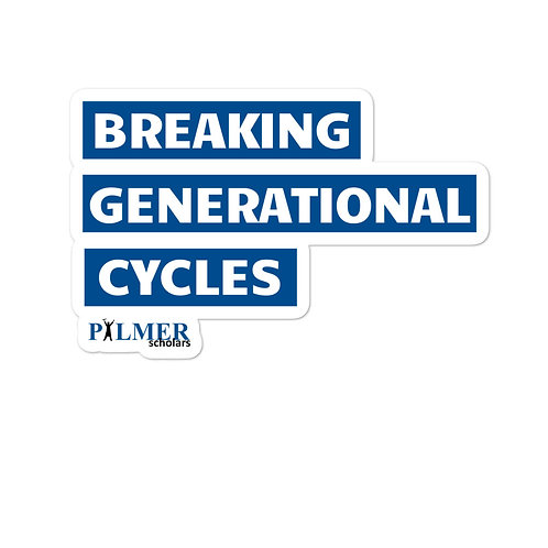 Breaking Cycles Sticker