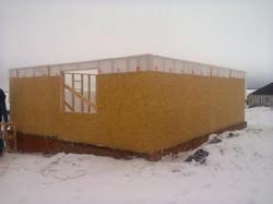 Строительство дома п. Комсомолец