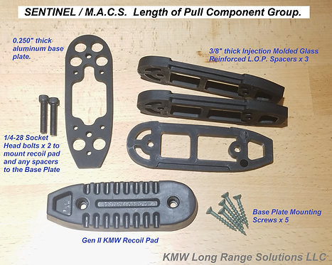PART #326-U :  Adjustable L.O.P. hardware kit for SENTINEL and M.A.C.S.