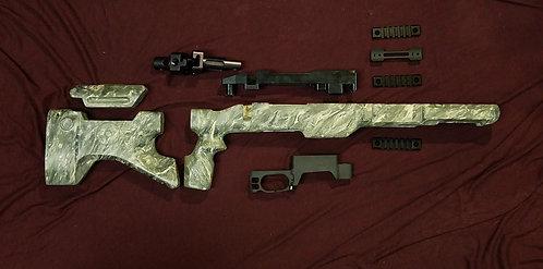 SURPLUS M.A.C.S. parts kit. - OD/Lt.Tan/Black Marble - Short Action I.M.