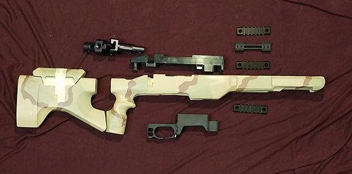 SURPLUS M.A.C.S. parts kit. - Sand Camo - Short Action I.M.B. +NV Inlet