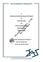 GL - BS_EN_356_2000 - Anti-Intrusion Tes