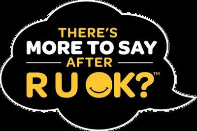 R U OK?DAY - THURSDAY 10 SEPTEMBER