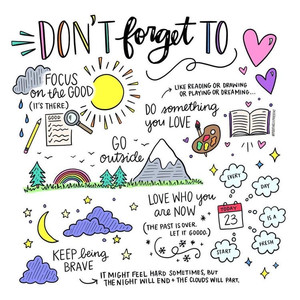 Don't forget to.. - Image Credit: Pinterest, Positively Present