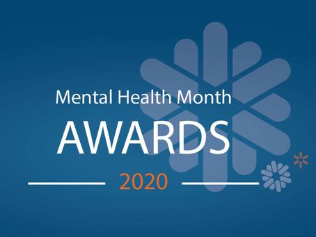 Mental Health Month Awards