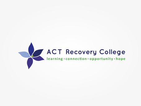 Official ACT Recovery College Branding Announced