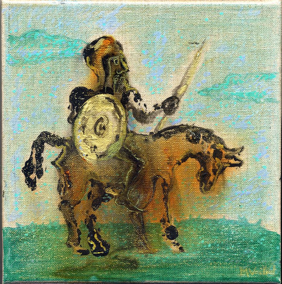 Don Quichotte et Sancho Pansa 3