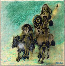 Don Quichotte et Sancho Pansa 1