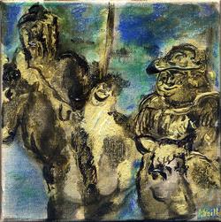 Don Quichotte et Sancho Pansa 17