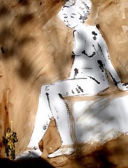 4_Don_Quichotte_et_Dulcinée__65x50
