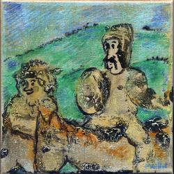 Don Quichotte et Sancho Pansa 13
