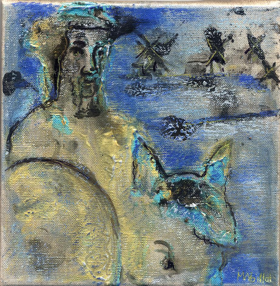Don Quichotte et Sancho Pansa 9