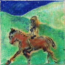 Don Quichotte et Sancho Pansa 4