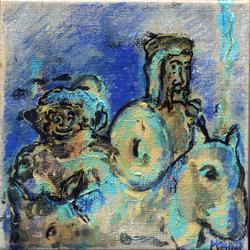 Don Quichotte et Sancho Pansa 15