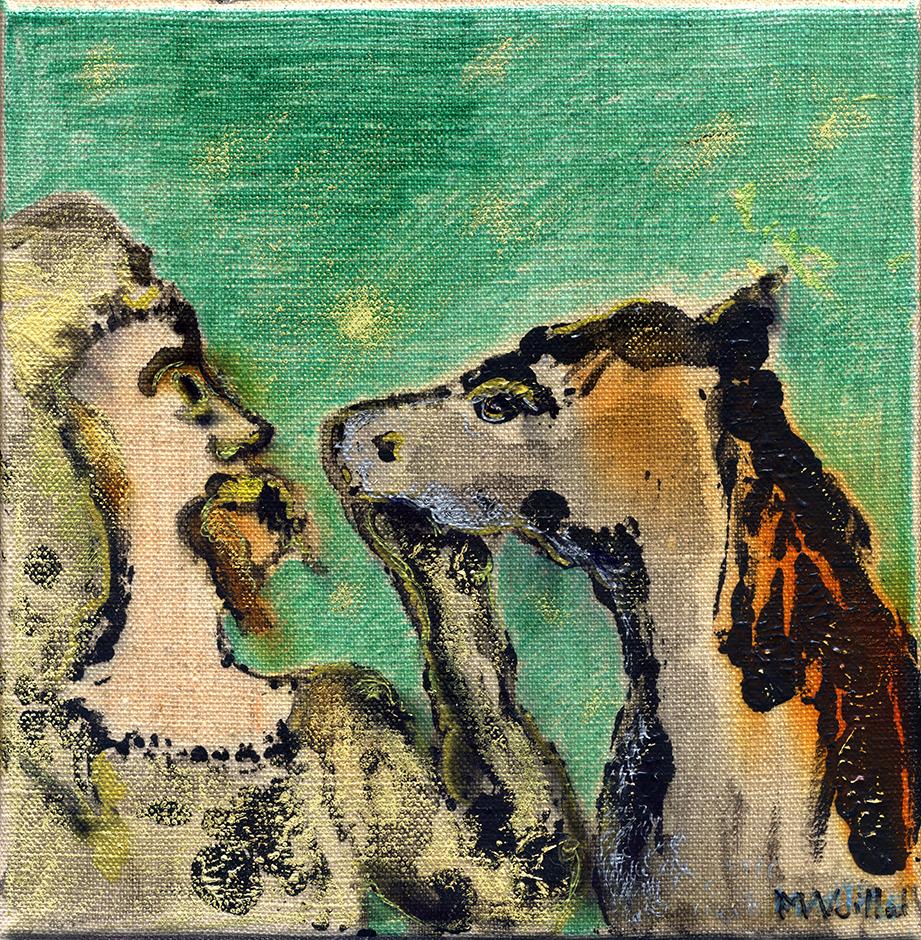 Don Quichotte et Sancho Pansa 2