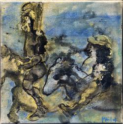 Don Quichotte et Sancho Pansa 11