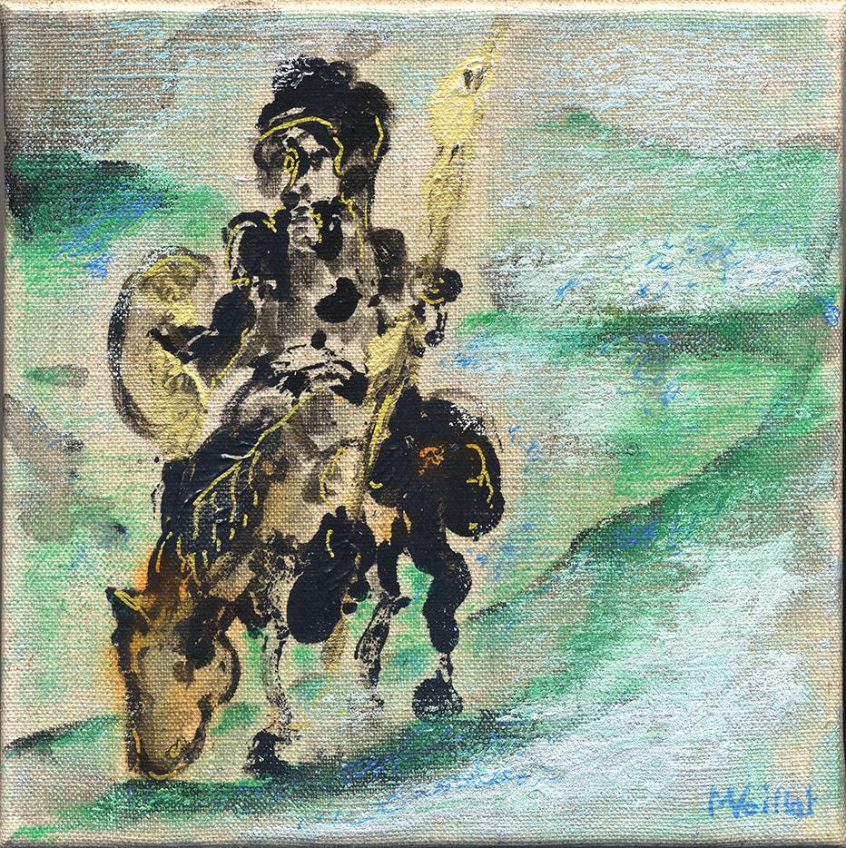 Don Quichotte et Sancho Pansa 18