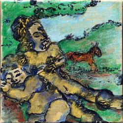 Don Quichotte et Sancho Pansa 16