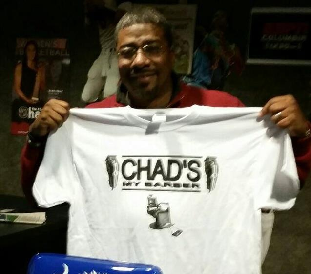 """Chad """"The Barber"""" T-Shirts"""