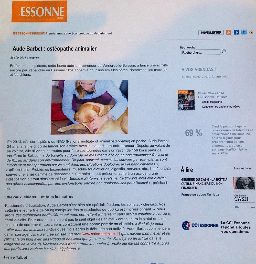 Ostéopathe animalier Réussir en Essonne.JPG