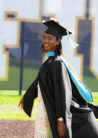 FIU Graduation Portrait