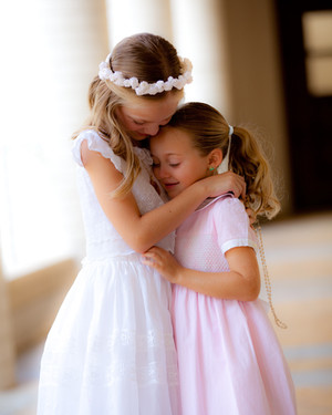 Girls Communion Portrait
