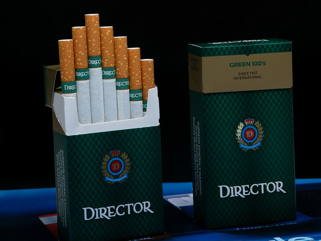 Cigarettes and products