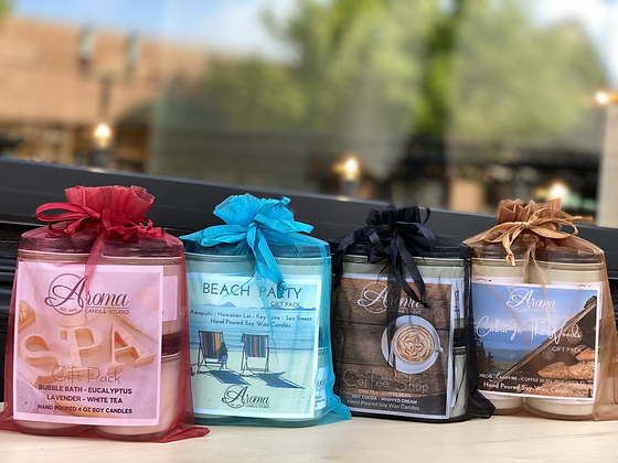 Candle Gift Packs