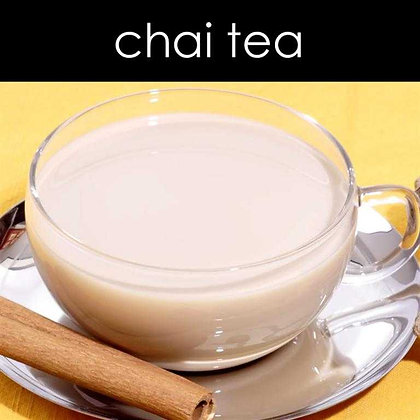 Chai Tea Candle - 8 oz White Tumbler