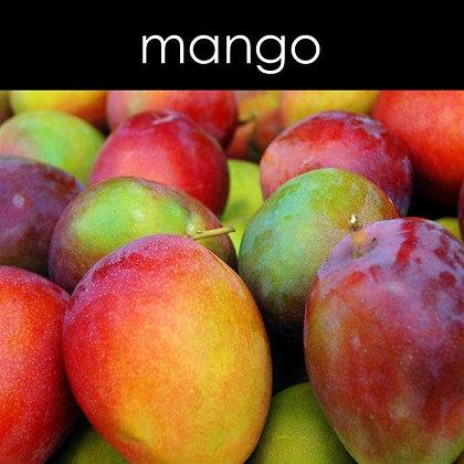 Mango Candle - 8 oz White Tumbler