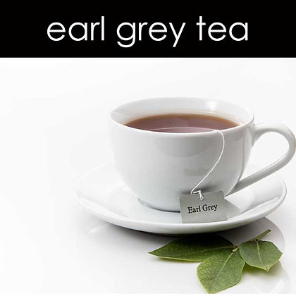 Earl Grey Tea Candle - 8 oz White Tumbler