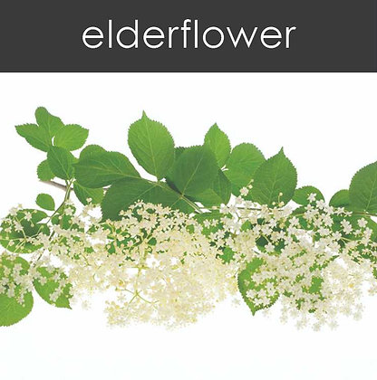 Elderflower Candle - 8 oz White Tumbler