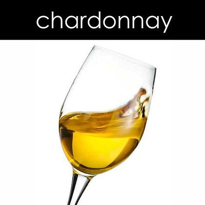 Chardonnay Candle - 8 oz White Tumbler