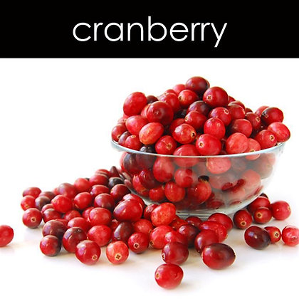 Cranberry Candle - 8 oz White Tumbler