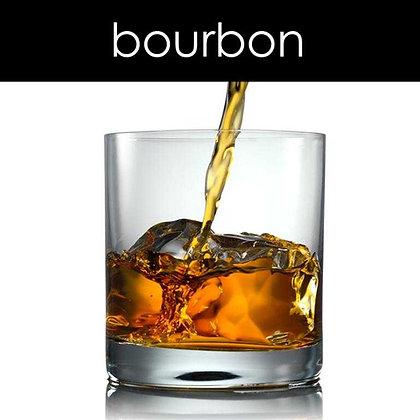 Bourbon Candle - 8 oz White Tumbler