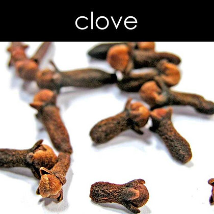 Clove Candle - 8 oz White Tumbler