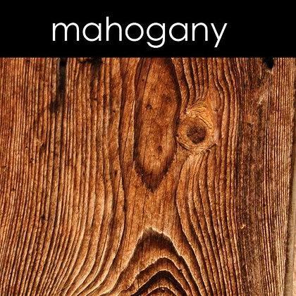 Mahogany Candle - 8 oz White Tumbler