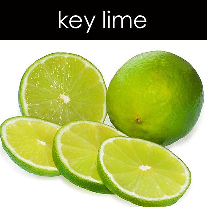 Key Lime Candle - 8 oz White Tumbler