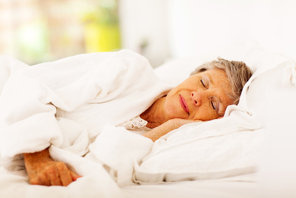 Tips on helping elderly get enough sleep