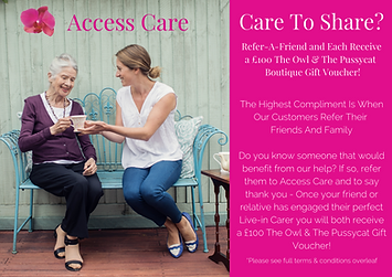 Access Care Recommend A Friend