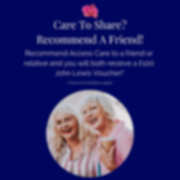 Recommend A Friend To Access Care!