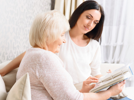 Looking After Someone With Dementia – What About Yourself?
