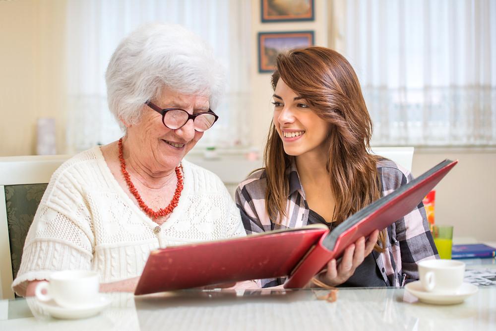 Live-in carer for elderly companionship care