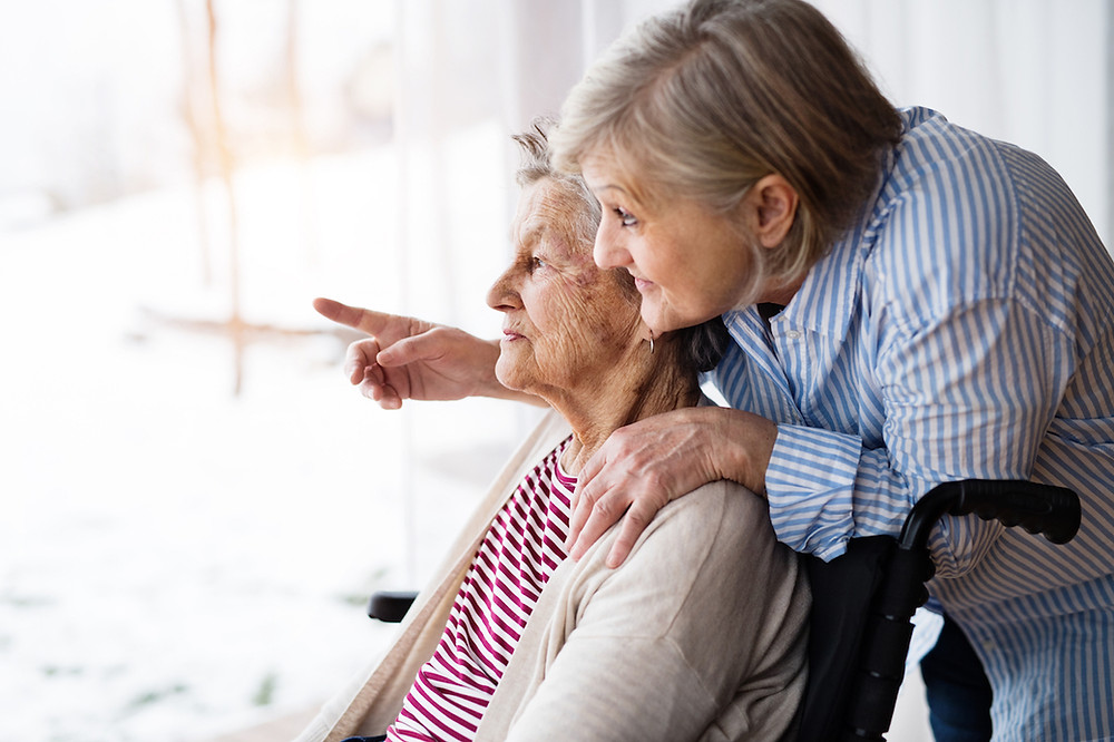 Elderly Woman With Live-in Carer